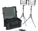 Litepanels 1x1 LS Traveler Duo Kit with V-Mount Batteries